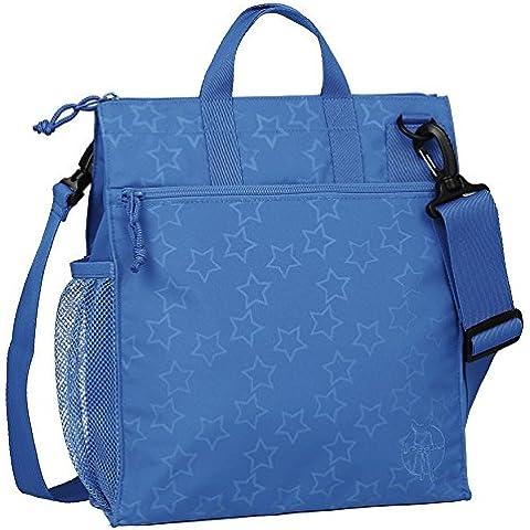 De estilo informal bolsa de Lassig estrella con forma de carrito de (es reflectante para que los con forma de estrella color azul