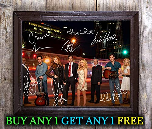 Nashville TV Show Cast Autographed Signed 8x10 Photo Reprint #53 Special Unique Gifts Ideas for Him Her Best Friends Birthday Christmas Xmas Valentines Anniversary Fathers Mothers Day (Tv-shows Nashville)
