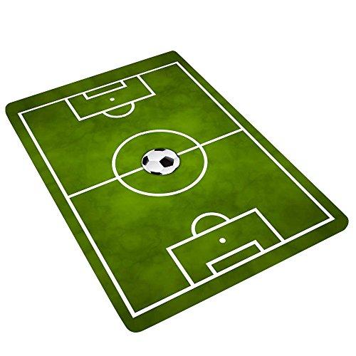 Lulalula Alfombra Campo fútbol niños Jugar Alfombrillas