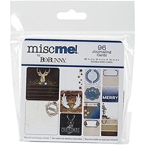 Misc Me Journal Pocket Contents-Sleigh (Sleigh Pocket)