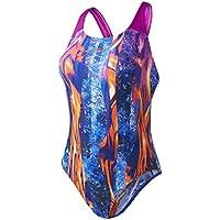 Speedo Damen LavaFlow Digital Powerback Swimsuit