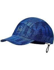 Original Buff R-Deep Logo Gorra para Correr, Unisex Adulto, Azul Marino, Talla Única