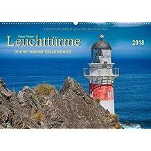Leuchtürme - immer wieder faszinierend (Wandkalender 2018 DIN A2 quer): Leuchttürme, faszinierende Bauwerke und leuchtende Navigationspunkte für die ... (Monatskalender, 14 Seiten ) (CALVENDO Orte)