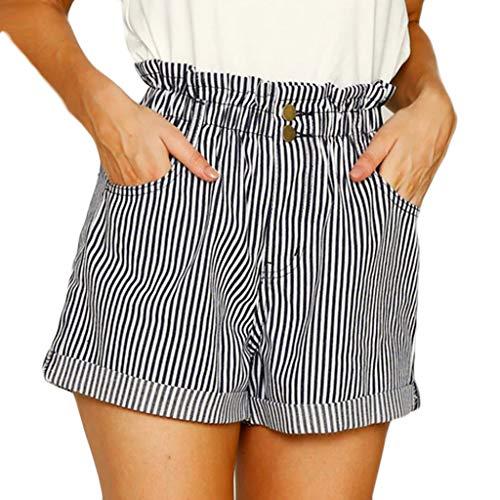 Daysing Pantalon Taille Haute en Velours Sexy pour Femme, imprimé léopard, Pantalon Court à Lacets