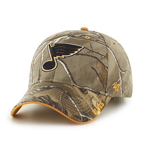 nhl-st-louis-blues-frost-mvp-adjustable-hat-one-size-realtree-camouflage