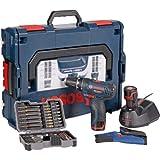Bosch Akkubohrschrauber-Set GSR 10,8-2-LI Professional blau...