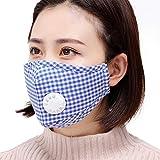 ddellk Máscara Antipolvo, Media máscara activada de la protección del Filtro de Carbono para Correr Actividades al Aire Libre de los Deportes de Ciclo Unisex