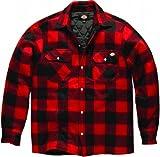Dickies Portland Shirt High Quality Padded Work Shirt Jacket Polar Fleece Check Desig...