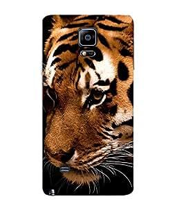 PrintVisa Designer Back Case Cover for Samsung Galaxy Note Edge :: Samsung Galaxy Note Edge N915Fy N915A N915T N915K/N915L/N915S N915G N915D (Innocent Tiger cute Tiger Lovely)
