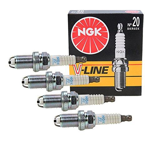4x NGK Zündkerze V-LINE 20 BKR6EK