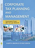 #5: Corporate Tax Planning & Management M.B.A C.A C.S ICWA & M.Com - Sahitya Bhawan Publications