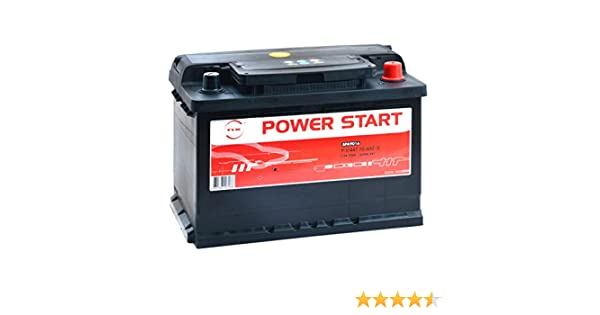 NX Autobatterie NX Power Start 70-600//0 12V 70Ah