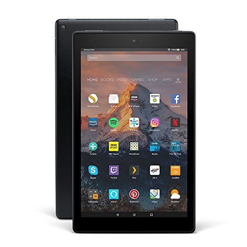 "Price comparison product image All-New Fire HD 10 Tablet with Alexa Hands-Free, 10.1"" 1080p Full HD Display, 64 GB, Black – with Special Offers"