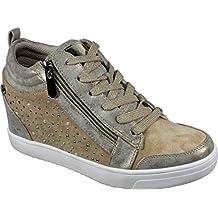 ea01c4fcf13d8 XTI 49019 - Zapatillas Mujer Cuña Alta Interior