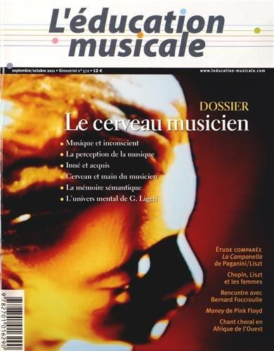Ed.Musicale n 572 le cerveau musicien