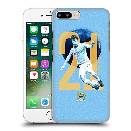 Ufficiale Manchester City Man City FC Kevin de Bruyne Giocatori Cover Retro Rigida per Apple iPhone 5 / 5s / SE David Silva