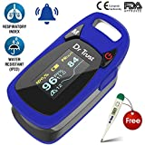 Dr Trust (USA) Professional Series Finger Tip Pulse Oximeter With Audio Visual Alarm and Respiratory Rate(Blue)