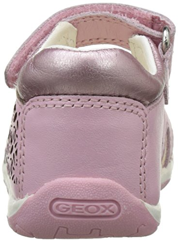 Geox B Sandal Tapuz Girl C, Scarpe Primi Passi Bimba Rosa (LT PINKC8010)