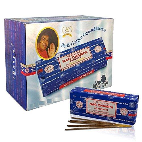 Satya Sai Baba Nag Champa 1000Gramm Räucherstäbchen Agarbatti