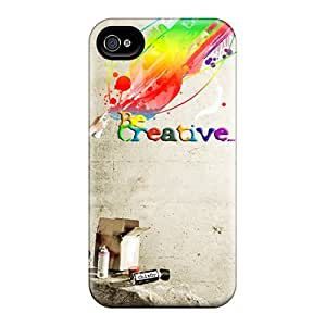 Cute High Quality Iphone 4/4s Be Creative Case