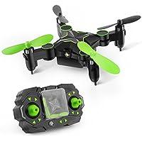GizmoVine 901H Pliable mini Drone avec Caméra 0.3MP FPV 2.4GHZ 6 Axes Télécommande Avion 3D Roulement Altitude Tenir Headless One Key Retour RC Quadcopter
