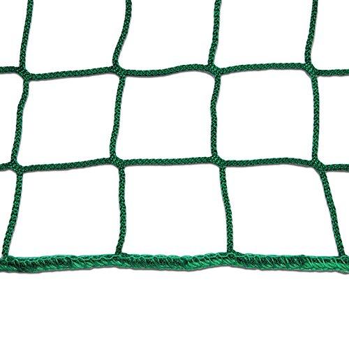 1 x Seitenschutznetz 2x5 m Gerüst Netz für Dachfanggerüste Fangnetz grün NEU