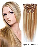 Best Mike & Mary Remy Hair Extensions - Light Golden Brown/Bleached Blonde #12/613 : Mike Review