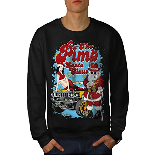 Kostüme Alt Jahre Halloween Lustig 11 Ist (Weihnachtsmann Claus Heiß Weihnachten Herren S Sweatshirt |)