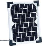 revolt Solarmodule: Mobiles Solarpanel mit monokristalliner Solarzelle 5 W (Solarpanel für Wohnmobile)