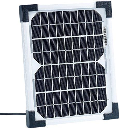 revolt Solarmodule: Mobiles Solarpanel mit monokristalliner Solarzelle 5 W (Solarpanel für Zuhause)