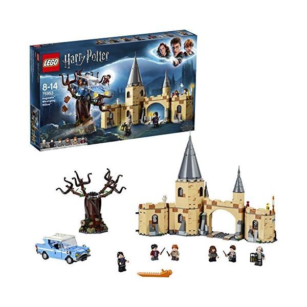 LEGO Harry Potter Il Platano Picchiatore di Hogwarts, Set da Collezione con 6 Minifigure, Ricco di dettagli, Idea Regalo… 1 spesavip