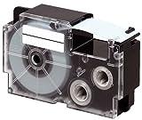 Beschriftungsband XR9WER für Casio, Rot auf Weiss, 9 mm, Schriftband XR-9WER, 9mm breit