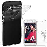 ebestStar - Coque Wiko Wim Lite Etui Housse Silicone Gel Anti-Choc Ultra Fine Invisible, Transparent + Film Verre Trempé [NB: Lire Description] [Appareil: 144 x 71.7 x 8.75mm, 5.0'']