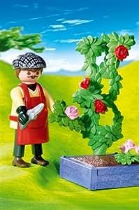 Playmobil - 4487 - Les commerçants -  Horticulteur rosier