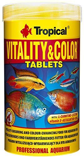 Tropical Vitality und Color Tablets farbfördernde Haftfuttertabletten, 1er Pack (1 x 250 ml)