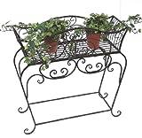 DanDiBo Blumenständer 72 cm Blumenbank 12554 S Metall Blumenregal Beistelltisch Tisch