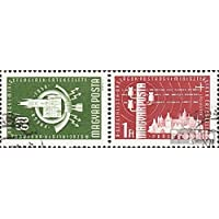 Hongrie 1532A-1533A Couple (complète.Edition.) 1958 ministérielle le oss, prague (Timbres pour les collectionneurs)