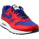 Nike AO1021-600, Herren Durchgängies Plateau Sandalen mit Keilabsatz, University Red/Deep Royal Blue - Größe: 44.5 EU