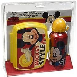 Mickey Mouse - Box Portamerenda con Borraccia Topolino