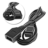 Ruitroliker 1.8m 6ft Extension Cable for Genesis1 Mega Drive Master System controller