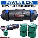 Max Stärke Fitness Power Tasche Home Fitness Tasche 10kg 20kg Power Sand Tasche, Schwarz / Gelb, Blue 20 kg