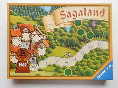 Preisvergleich Produktbild Sagaland - alte Ausgabe, Spiel des Jahres 1982.