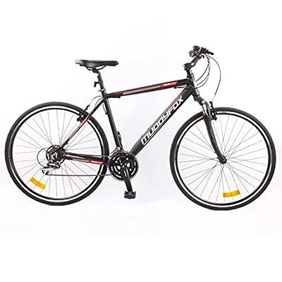 Muddyfox Mens Tempo200 Hybrid Bike Tech Spec Bicycle Lightweight