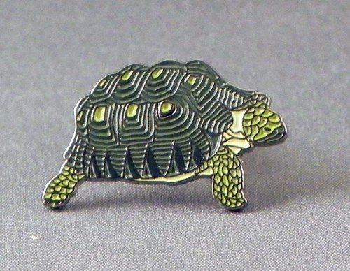 Metal Enamel Pin Badge Brooch Tortoise
