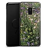DeinDesign Samsung Galaxy S9 Hülle Case Handyhülle Blumenwiese Wildblumen Blumenfeld