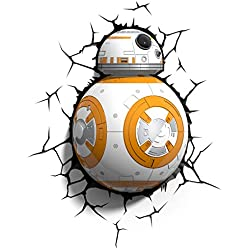 3D Light Fx Lampada LED 3Dlightfx-Star Wars Ep7 Bb8 Lead Droid con Timer, Multicolore