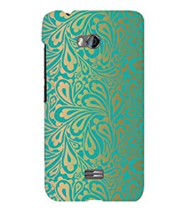 printtech Pattern Floral Back Case Cover for Micromax Bolt Q336