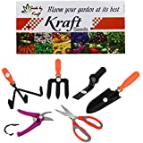 Kraft Seed 6 in 1 Garden Tool Kit