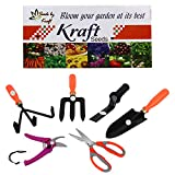 #5: Kraft Seed 6 in 1 Garden Tool Kit