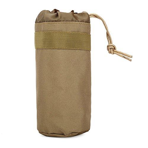 cal Military System Wasser Flasche Tasche Wasserkocher Beutel Halter Tasche, khaki ()